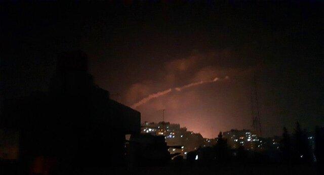 حمله جنگندههای اسرائیل به دمشق