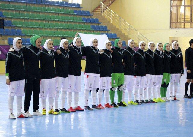 دختران فوتسال ایران قهرمان تورنمنت کافا شدند