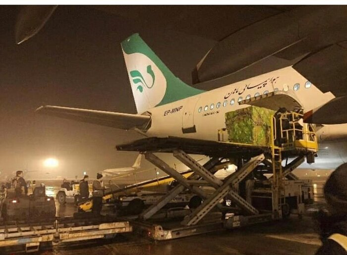 هواپیمایی ماهان: پروازها به چین برای ارسال کمکهای بشر دوستانه است