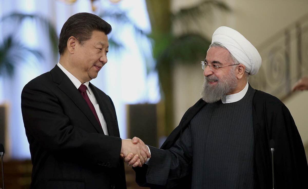 پیام رئیس جمهور چین به روحانی