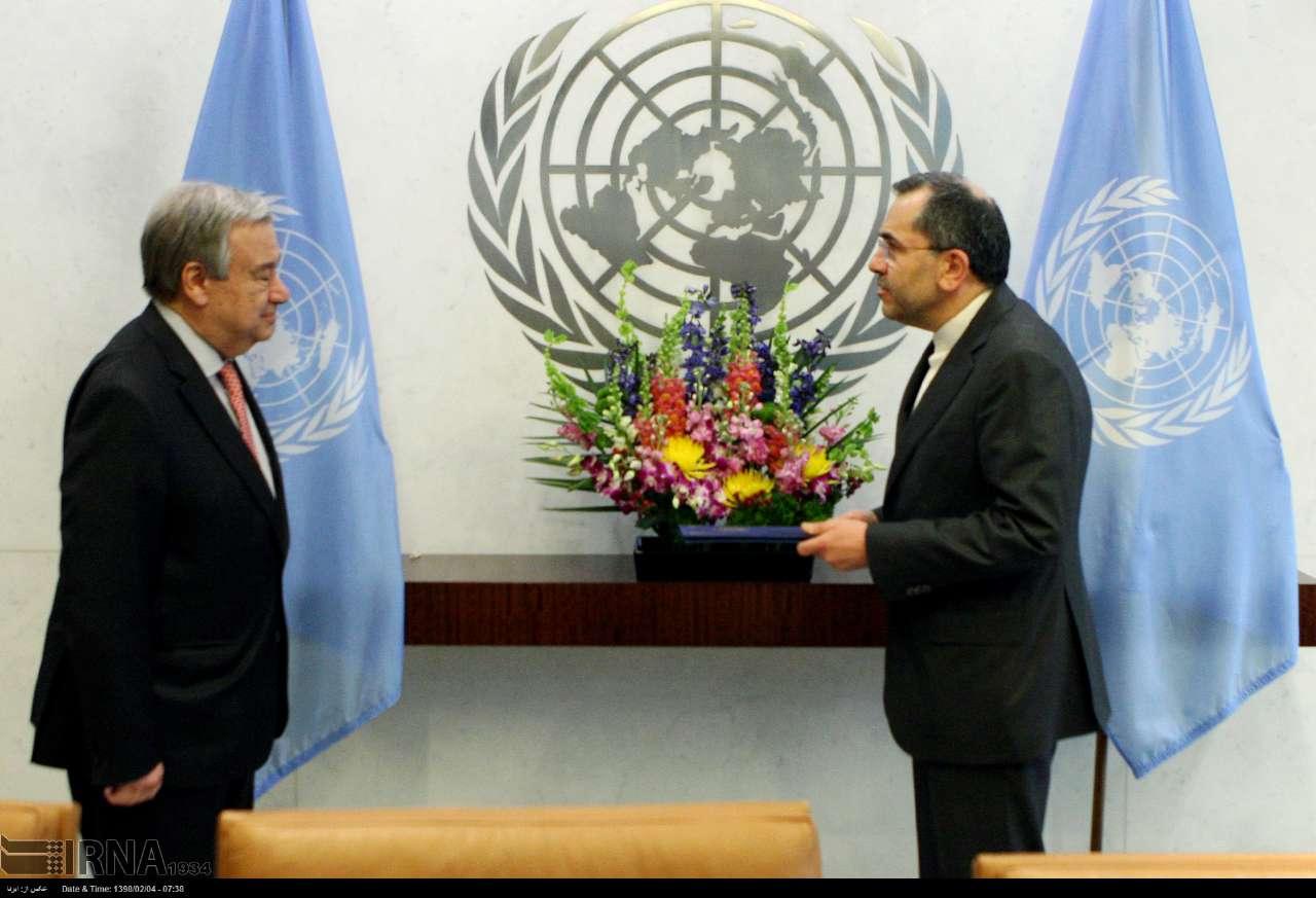 نماینده ایران در سازمان ملل: به دنبال جنگ نیستیم| پنجره دیپلماسی بسته نشده| ترامپ بیملاحظه و بیمبالات است