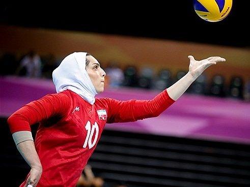 دختری که عاشق فوتبال بود اما اولین لژیونر والیبال شد+عکس