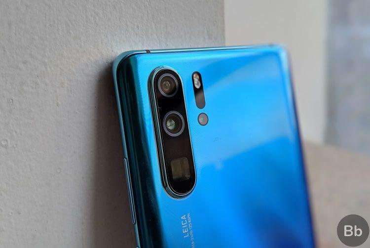 عکاسی با چهار دوربین همزمان در گوشی Huawei P30Pro