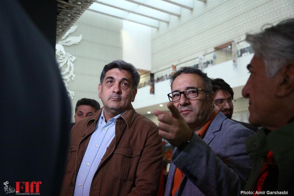 روزهای داغ جشنواره جهانی فجر /علی نصیریان به پردیس چارسو آمد