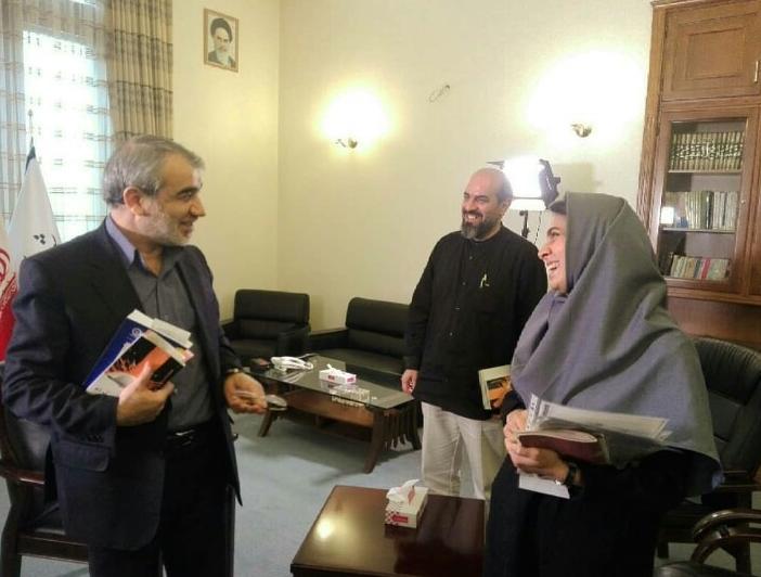 دعوت سخنگوی شورای نگهبان از بازیگر زن سینما جهت نظارت بر انتخابات مجلس+عکس