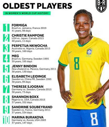مسنترین بازیکن جام جهانی زنان را ببینید/ عکس