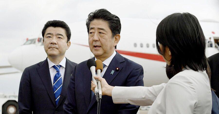 نخستوزیر ژاپن پیش از ترک توکیو: مایلم برای کاهش تنشها تبادلنظر صریحی داشته باشم| امیدوارم دیدارهایم به گونهای باشد که تنشها را کم کند
