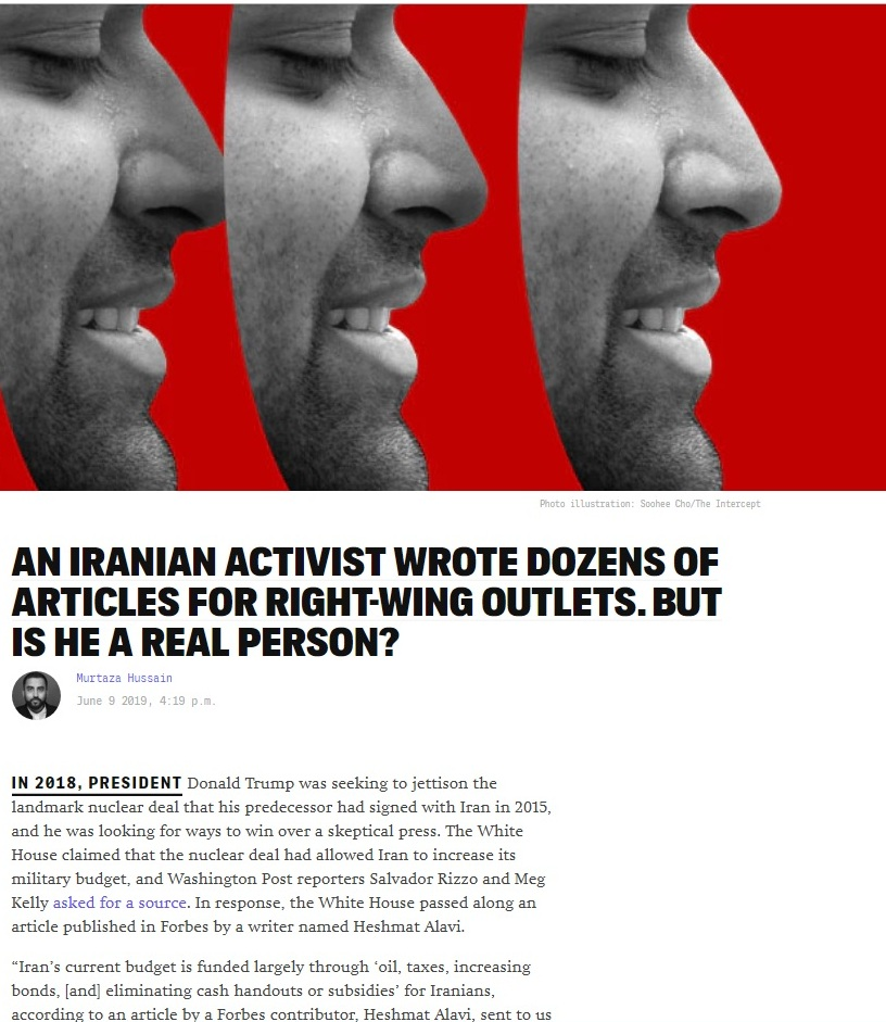 آبروریزی بزرگ برای رسانههای ضدایرانی/ شخصیت حشمت علوی چگونه ساخته شد؟