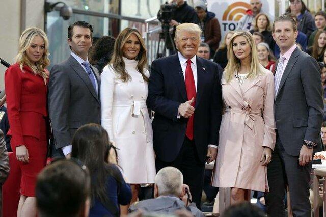 ترامپ در سفر به انگلیس فرزندانش را هم میبرد