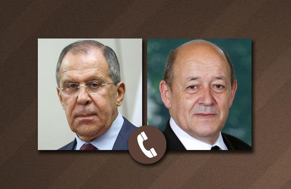 مذاکره وزیران خارجه روسیه و فرانسه درباره ایران