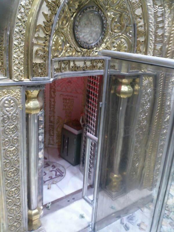 عکس/ محل ضربت خوردن حضرت علی(ع) در مسجد کوفه