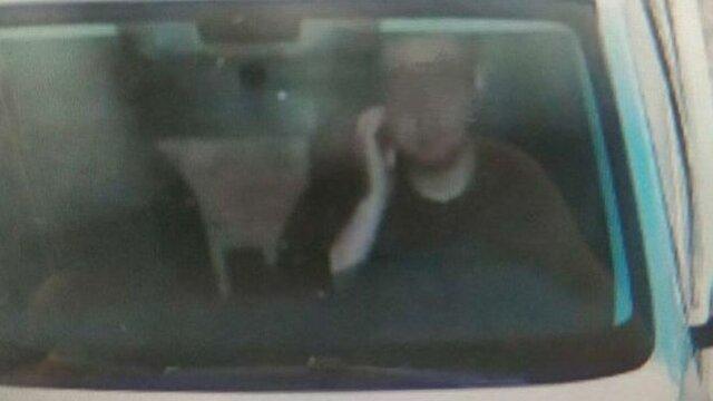 راننده چینی به خاطر خاراندن صورتش جریمه شد