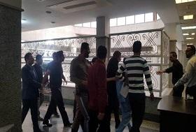 نجفی با لباس زندان به دادسرا رفت