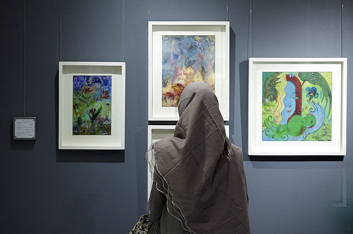 مادر نقاشیهای شیشهای درگذشت+عکس