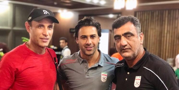 دیدار یحیی و فرهاد در هتل المپیک+عکس