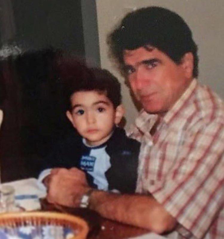 تصویری دیده نشده از محمدرضا شجریان و پسرش
