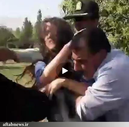 واکنش پلیس به ویدئوی درگیری با یک دختر جوان در تهرانپارس+عکس