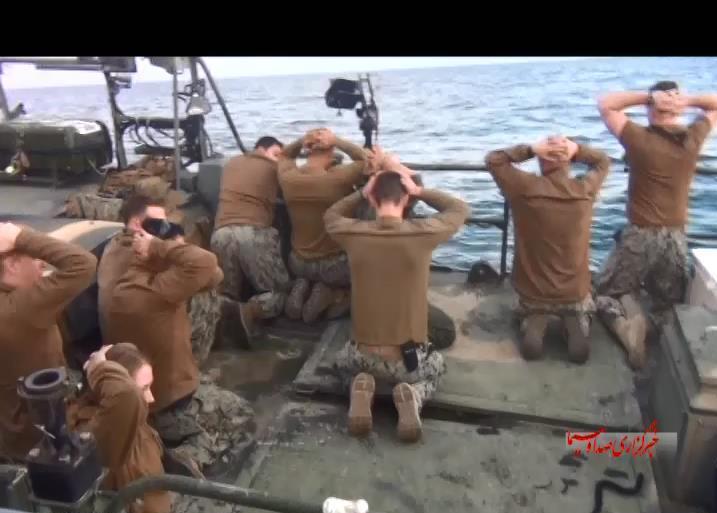 کدام یگان سپاه نفتکش انگلیسی را توقیف کرد؟+عکس