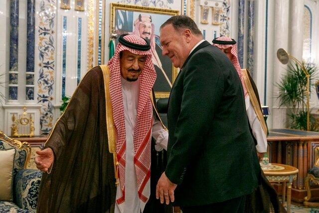 پامپئو درباره خاشقجی با پادشاه عربستان گفتوگو نکرد