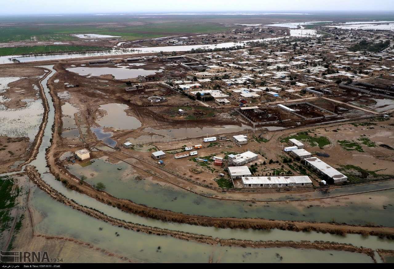 اخطار دوباره سیل در خوزستان