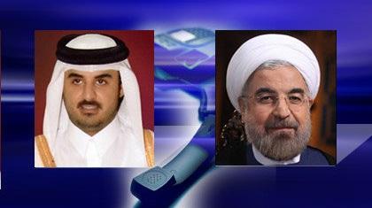 روحانی در تماس تلفنی امیر قطر: اقدامات آمریکا مشکلات منطقه را پیچیده و خطرناکتر میکند