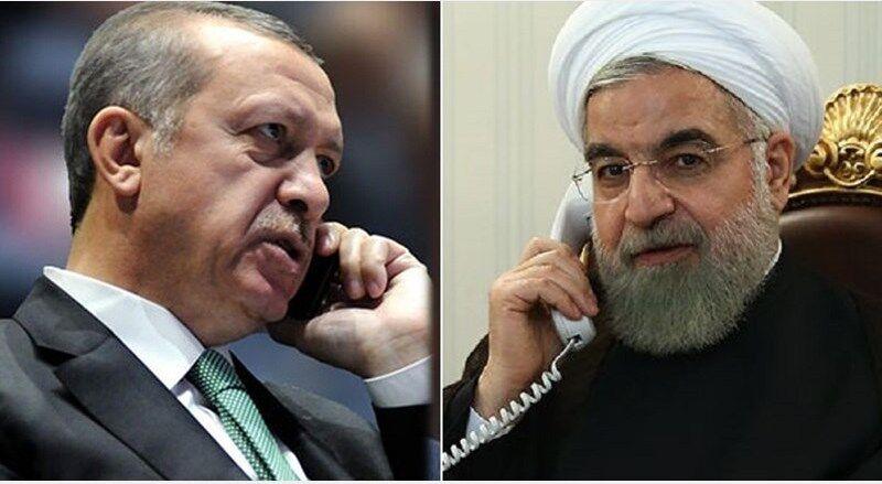 تاکید روحانی و اردوغان بر توسعه همکاریهای دو کشور