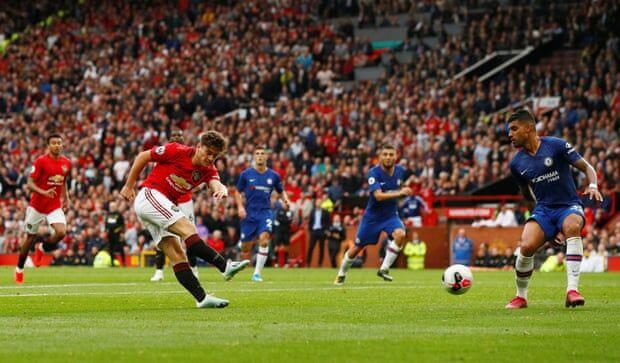 شکست سنگین چلسی برابر یونایتد در لیگ برتر انگلیس