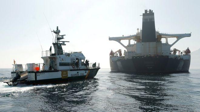 آمریکا حکم توقیف نفتکش ایرانی گریس 1 را صادر کرد