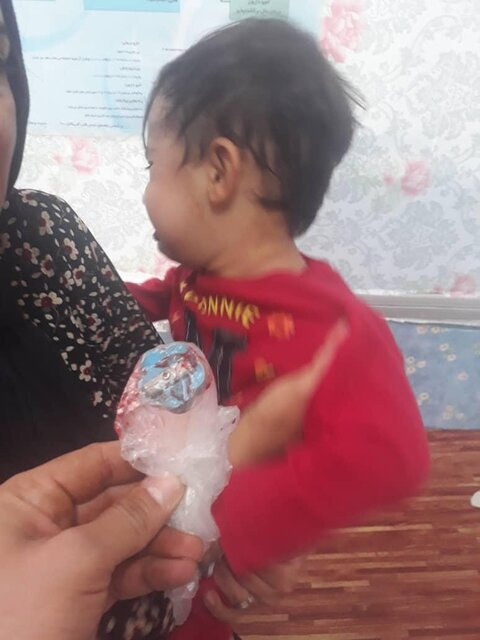 گیر کردن مدادتراش در گلوی کودک
