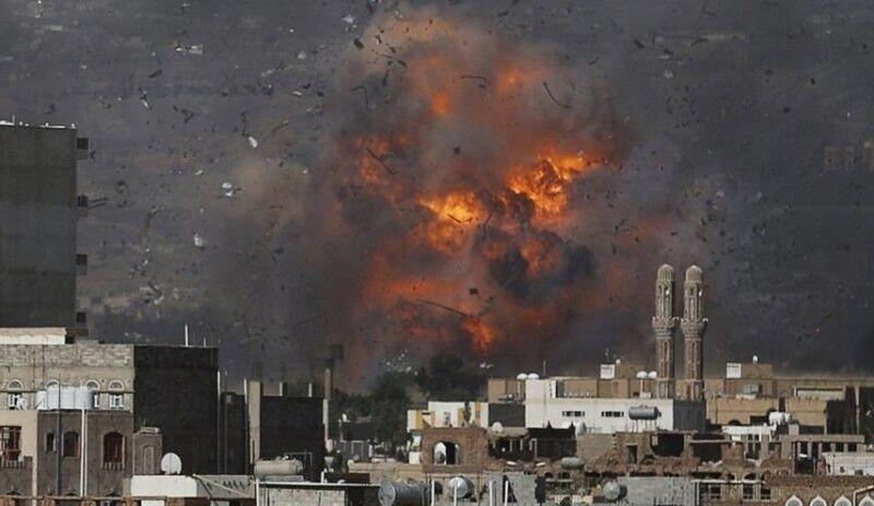 جنگندههای عربستان صنعا یمن را بمباران کردند