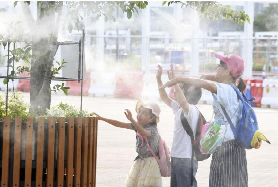 موج گرما جان ۱۱ نفر را در ژاپن گرفت