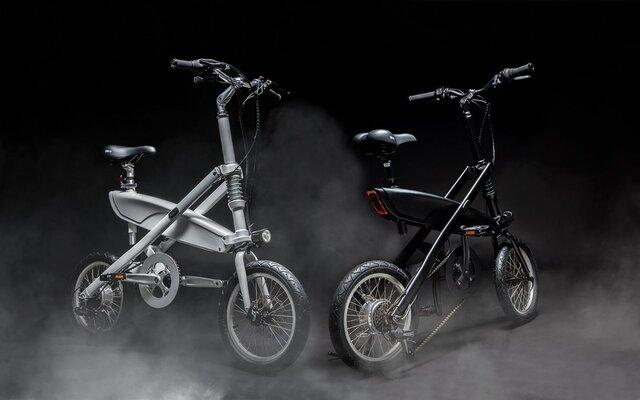 دوچرخه برقی که یک ثانیهای تا میشود/عکس