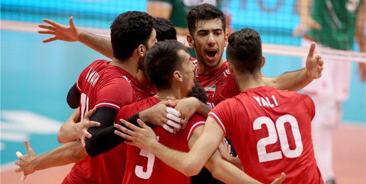والیبال ایران با قدرت از سد هند گذشت