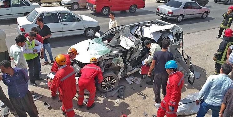 تصادف زنجیرهای در محور نیکشهر به قصرقند/ ۱۵ کشته و مجروح