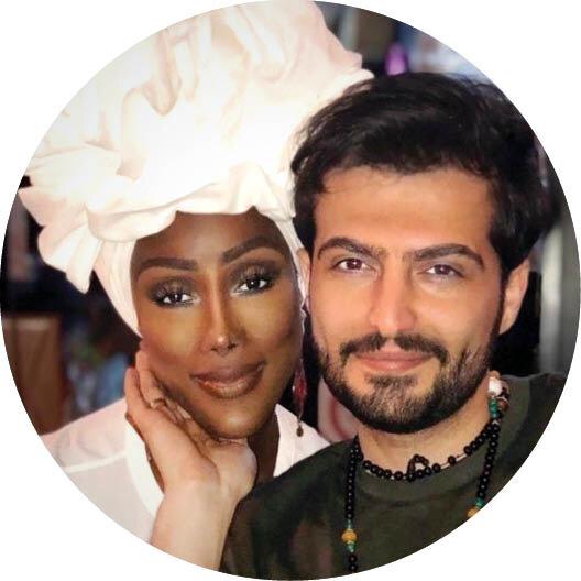 پسر ایرانی که با دختر یک ملکه قبیله آفریقایی ازدواج کرده+ عکس