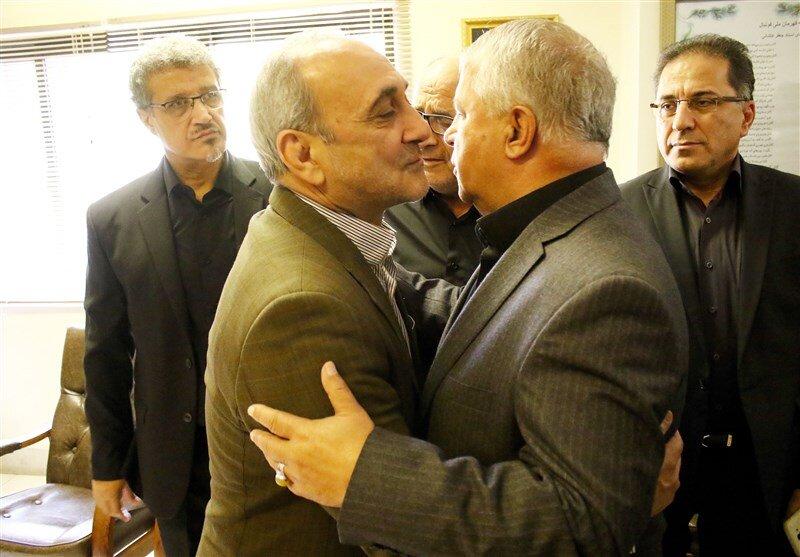 حضور انصاریفرد و پروین در باشگاه شاهین/عکس