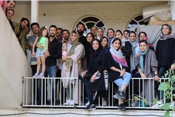 واکنش شاهرخ استخری به انتشار عکس همسرش+عکس