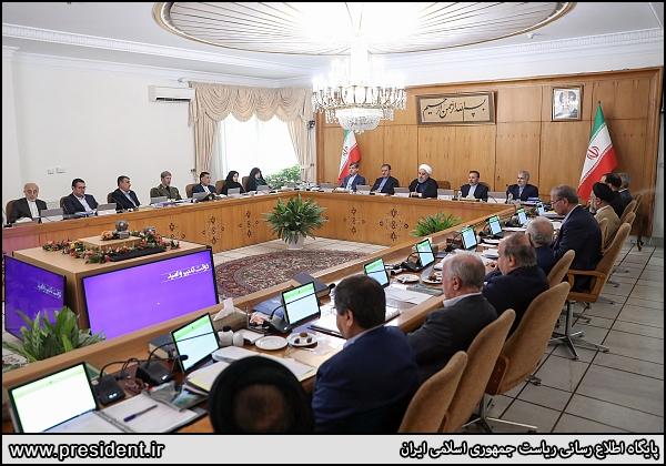 تصاویر| جلسه هیات دولت