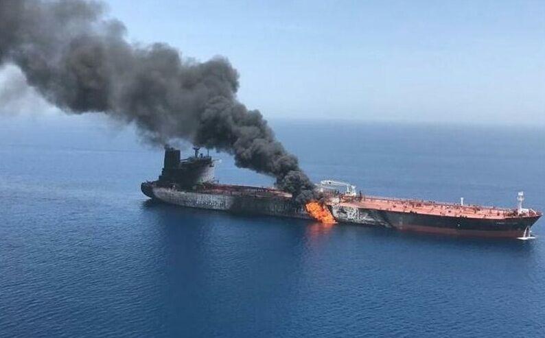 انفجار در نفتکش ایرانی در دریای سرخ