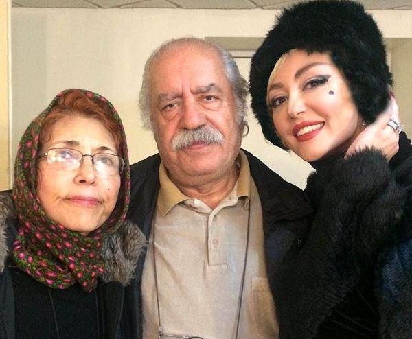خانم بازیگر در کنار پدر و مادر معروفش + عکس