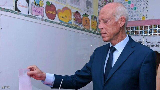قیس سعید با 76 درصد آرا پیروز انتخابات تونس شد