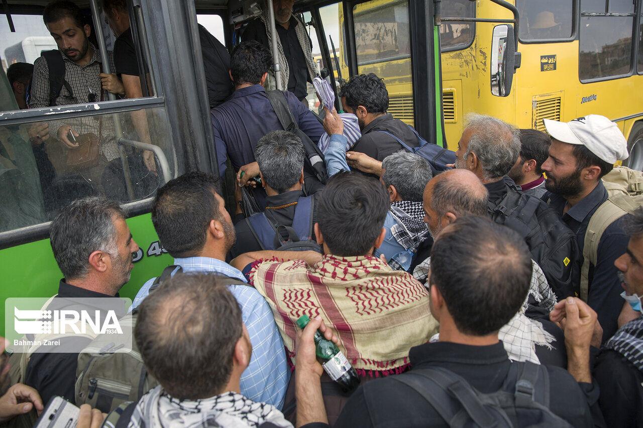 فوت ۱۰۰ زائر ایرانی در عراق/ دستگیری تعدادی زائر/ ۱۰۰۰ نفر گمشده به کشور بازگشتند