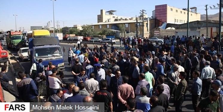 تجمع کارگران آذرآب اراک
