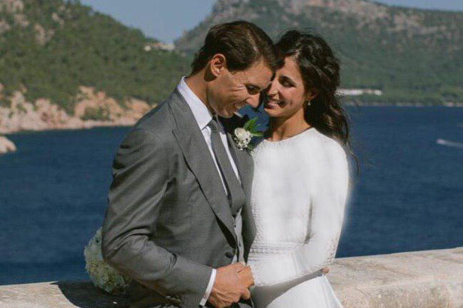 تصویری از مراسم ازدواج رافائل نادال