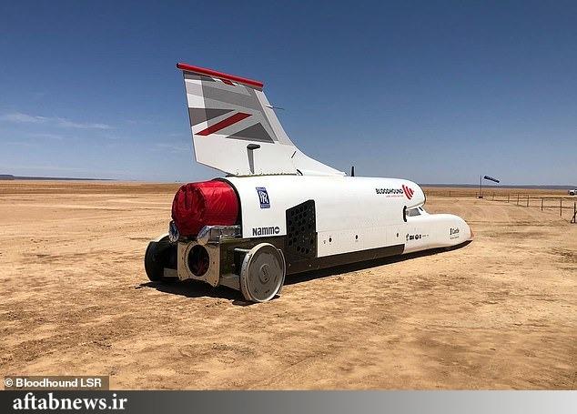 رونمایی از سریعترین خودروی جهان+عکس