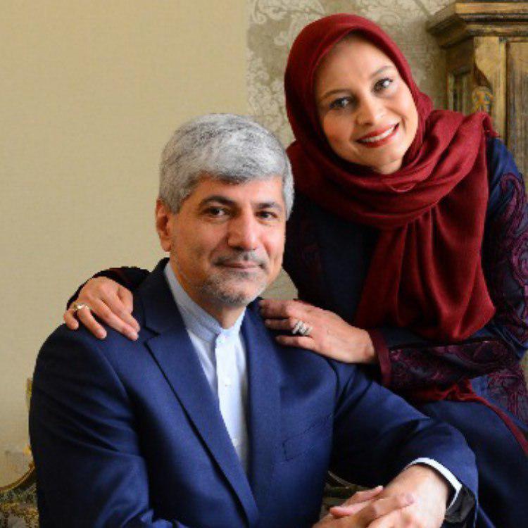 عکس| خانم بازیگر در کنار همسر دیپلماتش