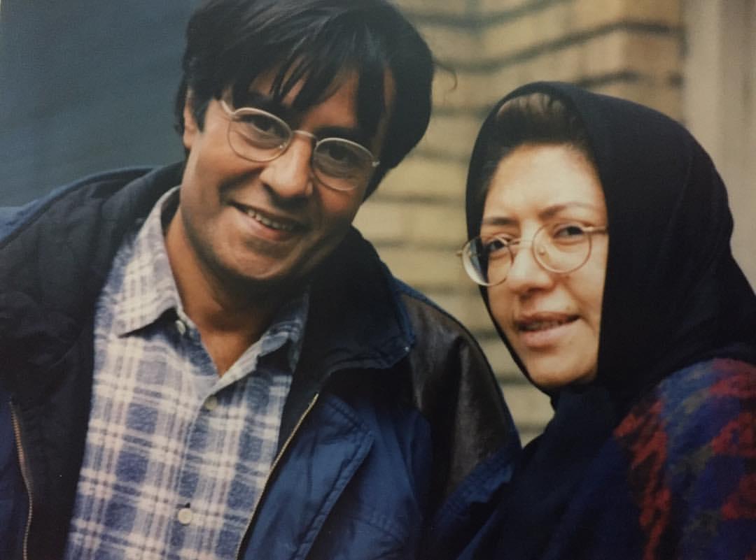 عکس| همسر خسرو شکیبایی در روزهای بدون خسرو