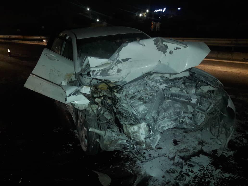سانحه رانندگی در آزادراه خلیج فارس خوزستان/ یک نفر کشته شد