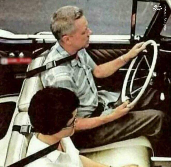 عکس/ طرح اولیه کمربند ایمنی در دهه ۶۰ میلادی
