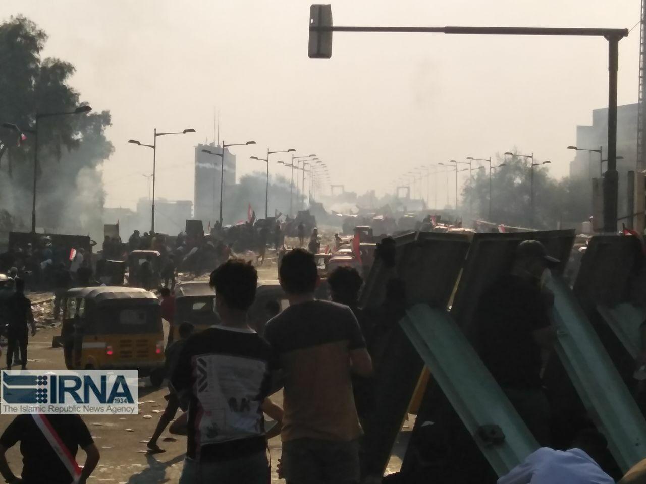 معترضان عراقی رادیو و روزنامه درست کردند